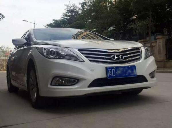 北京现代雅尊(进口)2012年上牌二手车报价_多少钱,年