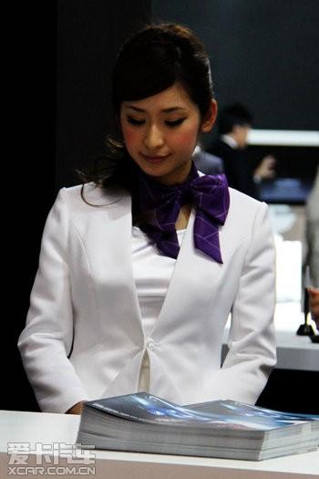 查看小图东京车展美女车模