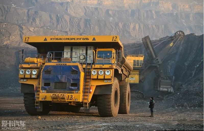 世界最大载重大的卡车