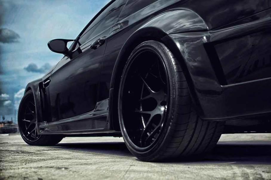 【图】炫酷黑色改装车-爱卡汽车图片