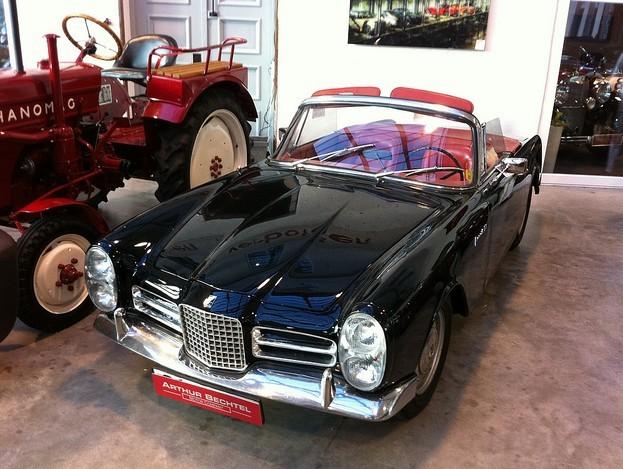 经典复古汽车