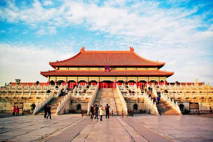 冬天紫禁城 壁纸