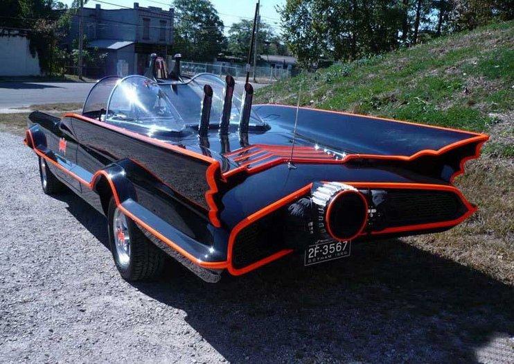 蝙蝠侠超酷战车合集_汽车
