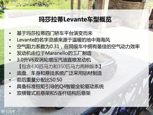 玛莎拉蒂2016款Levante