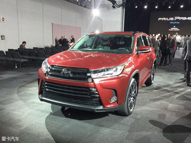 2016纽约车展:丰田新款汉兰达正式发布