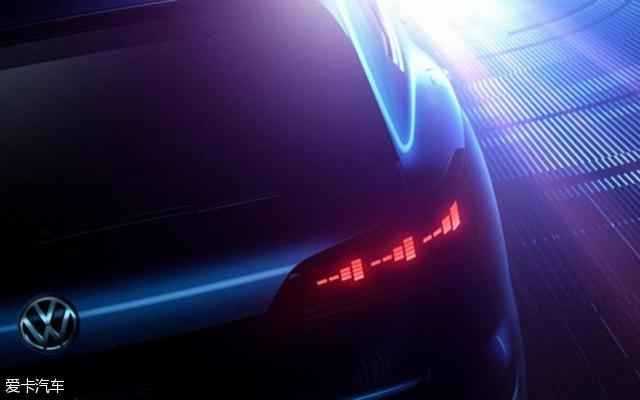 大众全新SUV预告图曝光 将北京车展首发