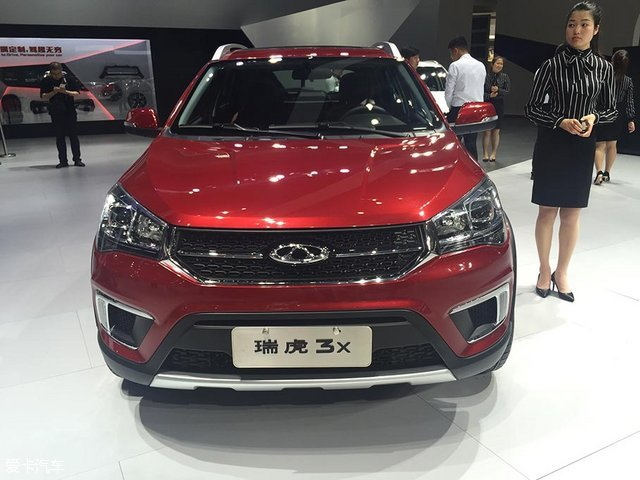奇瑞瑞虎3x北京车展首发 年轻化设计图片