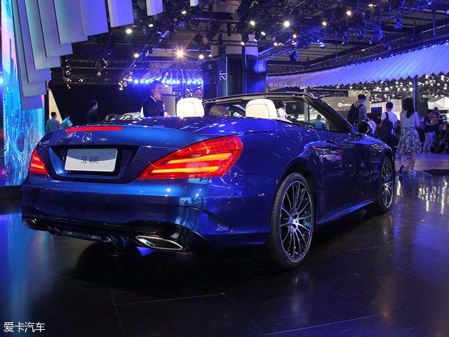 2016广州车展:奔驰新款SL级正式亮相