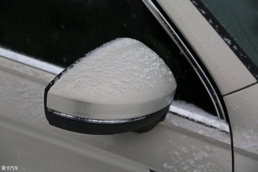 冰雪试驾大众途观L